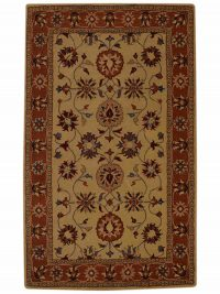 Hand-Tufted 9x12 Oushak Ziegler Oriental Area Rug