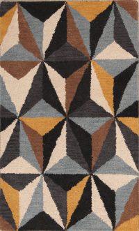 Cubic Design Modern Oushak Oriental Area Rug