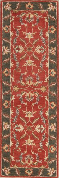 All-Over Floral Oushak Agra Indian Oriental Area Rug