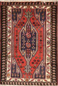 3x5 Mazlaghan Hamedan Persian Area Rug
