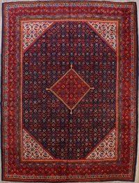 Geometric Mahal Sarouk Persian Area Rug 10x13