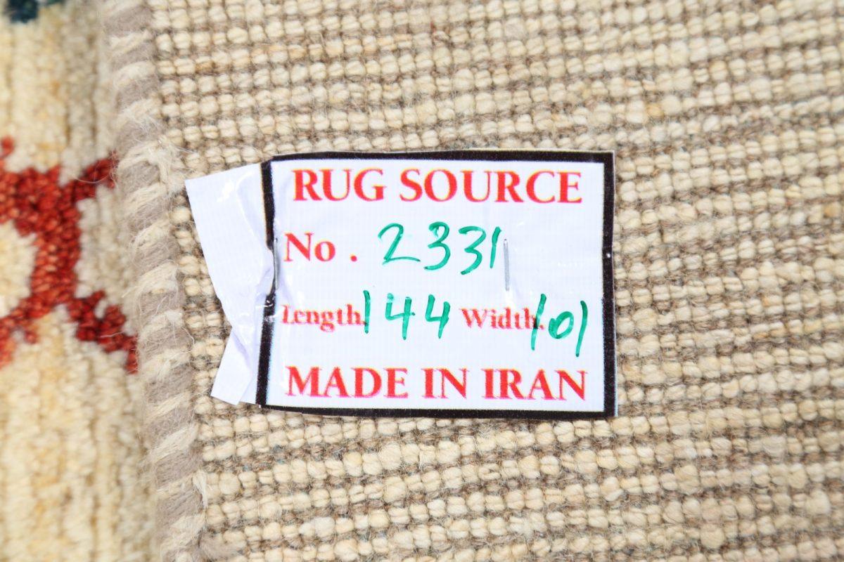 Tribal 3x5 Gabbeh Shiraz Persian Area Rug