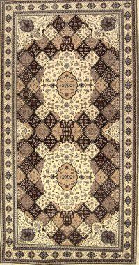 Geometric Palace Sized Bakhtiari Persian Area Rug 10x20