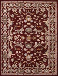 Floral Oushak Oriental Square Area Rug 12x12