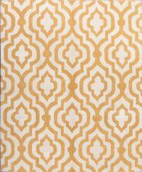 Hand Tufted Modern Moroccan Trellis Oriental Area Rug 8x10