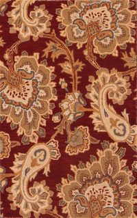 Floral Agra Oriental Area Rug 3x5