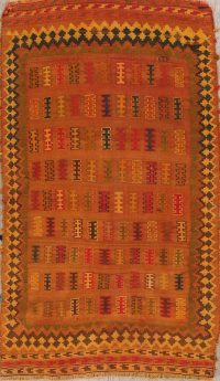 Tribal Kilim Shiraz Persian Area Rug 4x7
