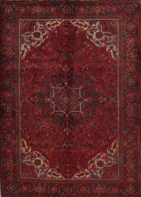 Red Geometric Heriz Persian Area Rug 6x9