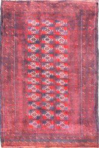 Geometric Balouch Oriental Wool Rug 3x5