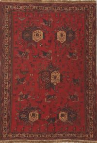 Flat-Weave Sumak Kilim-Sirjan Persian Area Rug 4x6