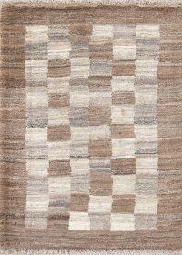 Modern Gabbeh Zollanvari Shiraz Persian Wool Rug 3x4
