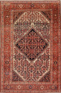 Floral Malayer Mishen Persian Area Rug 4x7