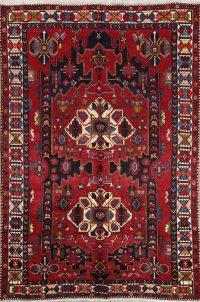Geometric Bakhtiari Persian Area Rug 7x10