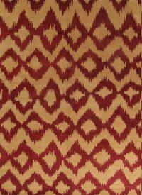 Orange Geometric Moroccan Trellis Indian Oriental Area Rug 10x14