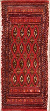 Geometric Balouch Persian Area Rug 2x3