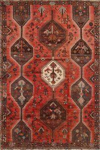 Geometric Shiraz Persian Area Rug 6x8