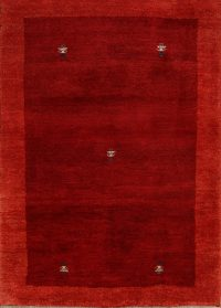 Contemporary Gabbeh Shiraz Persian Wool Rug 3x5