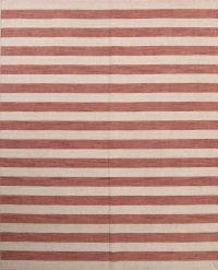 Reversible Stripe Gabbeh Indian Oriental Rug 8x10