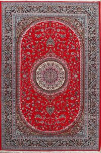 Floral Isfahan Persian Area Rug 6x10