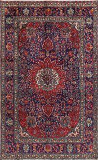 Floral Tabriz Persian Area Rug 7x11