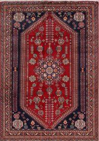 Geometric Kashkoli Persian Area Rug 7x9