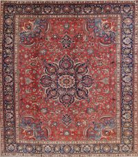 Antique Vegetable Dye Bakhtiari Persian Area Rug 12x14