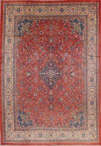 Floral Sarouk Persian Area Rug 10x14
