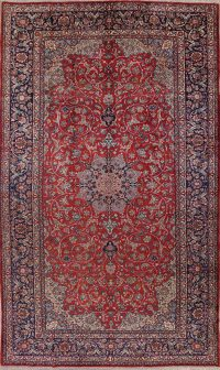 Mansion Traditional Najafabad Isfahan Persian Area Rug 10x17