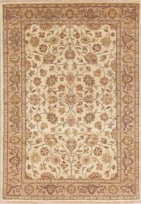 Floral Agra Indian Oriental Area Rug 4x6