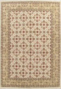 All-Over Oushak Indian Oriental Area Rug 10x14