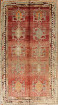Red Geometric Gabbeh Shiraz Persian Area Rug 5x9