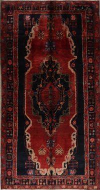 Red Geometric Malayer Persian Runner Rug 5x9