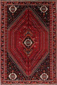 Red Tribal Geometric Lori Persian Area Rug 7x10