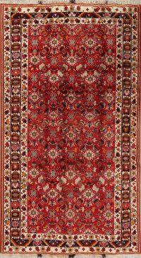 Red Geometric Kashkoli Persian Area Rug 6x9