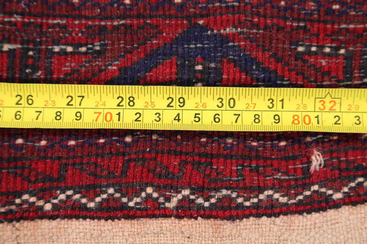 Tribal Balouch Afghan Oriental Runner Rug 3x6