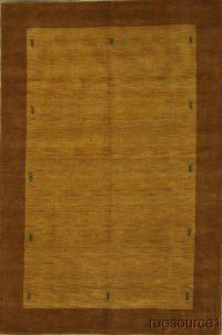 7x10 Modern Gabbeh Indian Oriental Area Rug