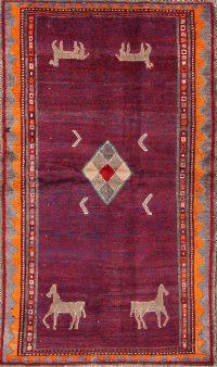 4x6 Gabbeh Persian Area Rug