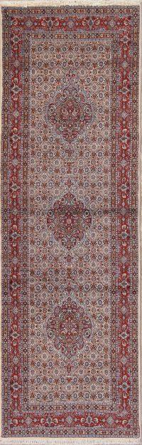 All-Over Floral Bidjar Persian Runner Rug 3x8