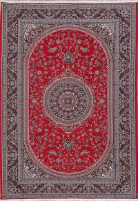 Floral Red Oushak Turkish Oriental Area Rug 7x10