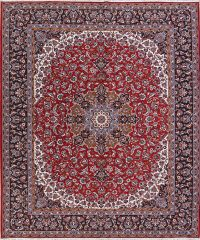 Floral Red Najafabad Turkish Oriental Area Rug Wool 10x13