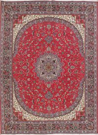 Floral Red Kashmar Turkish Oriental Area Rug Wool 10x13