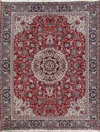 Floral Red Oushak Turkish Oriental Area Rug Wool 9x12