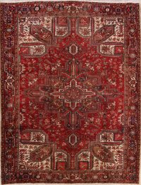 Geometric 9x12 Heriz Persian Area Rug
