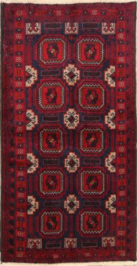 Balouch Bokhara Persian Runner Rug 3x6