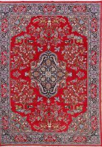 Animal Pictorial Soft Plush 9x13 Kashmar Persian Area Rug