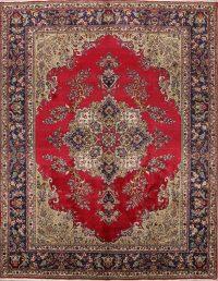 Floral 10x13 Tabriz Persian Area Rug
