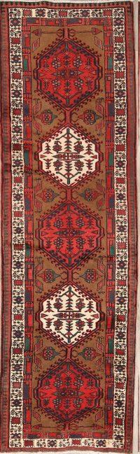 Geometric Tribal 3x11 Ardebil Persian Rug Runner