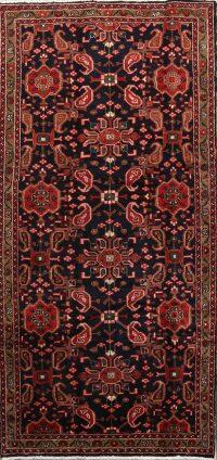Floral Paisley  4x8 Hamedan Persian Rug Runner