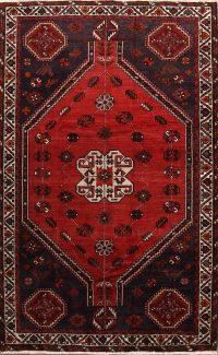 Geometric Tribal 5x8 Shiraz Persian Area Rug