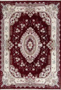 Soft Plush Floral 8x11 Tabriz Persian Area Rug
